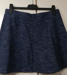 Nenošena Esmara plava suknja A kroja