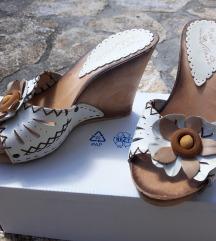 Drvene ljetne sandale, 24 cm