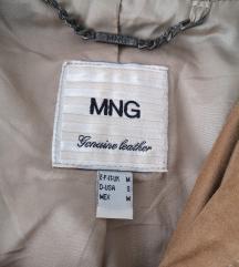 Kožna Mango jakna