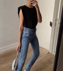 Zara Shoulder Pads Top