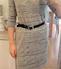 Siva haljinica vel 40