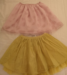 Prodajem dvije dječje H&M suknje 134/140