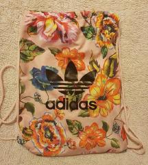 Adidas Original floral gym bag