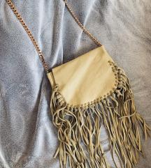 ZARA torba od prave brušene kože - nenošeno!