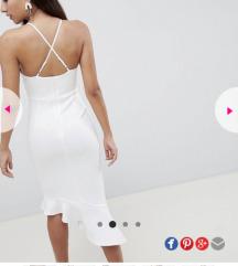 ASOS elegantna bijela haljina akcija 200 kn
