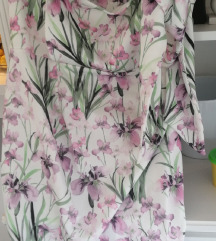 Asos cvijetna haljina za trudnice 44
