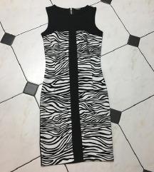 Haljina zebrasta NOVA