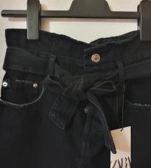 Zara jeans hlačice novo!