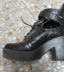 goth punk cipele čizme