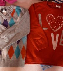 Lot 110 -116 ,pulover ,majice