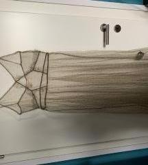 H&M sheer/prozirna haljina