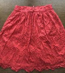 Suknja roza Mango 34