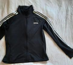 Adidas crni gornji dio trenerke S/M %% 150 kn