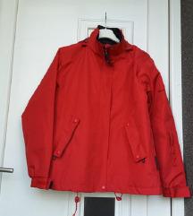 Crvena, topla jakna, S