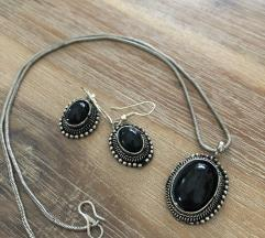 Komplet nausnice i ogrlica