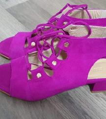 Nove Guliver ljubičaste kožne sandale