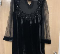 Zara haljina od pliša