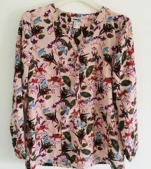 Roza Cvjetna košulja bluza vel 36