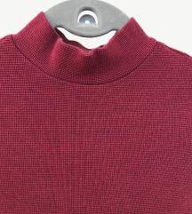 Pull&Bear tamno crvena uska haljina