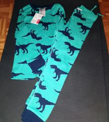 H&M pidzama na dinosaure