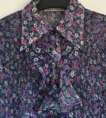 Retro cvjetna bluza