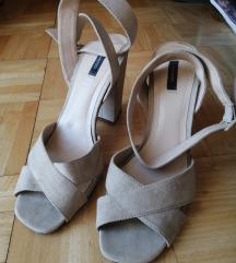 Sandale bež 39