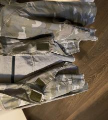 Traper jakna maskirna ZARA