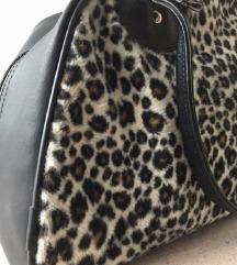 Leopard bowling bag torba