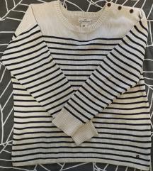 H&M pulover 100%pamuk