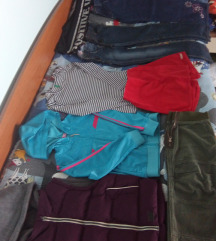 POVOLJNO! Lot odjeće za djevojčice 128-134