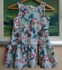 H&M ljetna haljina na papige za curice br. 92