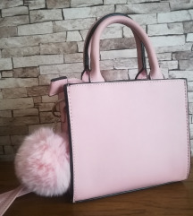NOVO mala roza torbica!