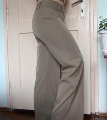 Ženske hlače sivo zelene odijelo veličina M