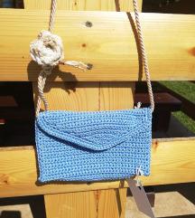 Indigo plava torbica