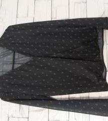 Crna bluza s uzorkom