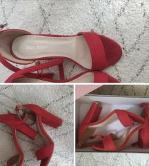Crvene sandale, 38