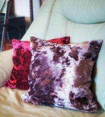 Jastučnice crushed velvet