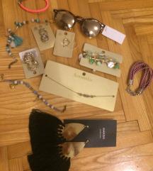 H&M naocale, Mango nausnice, narukvice accessorize