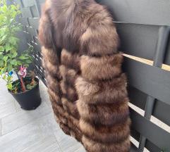 Nova luksuzna bunda lisica s okovratnikom