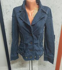 Jakna jeans/traper look