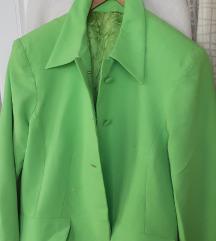 REZ.Neon zeleni proljetni sako&suknja L