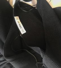 ZARA knit haljina na jedno rame SMALL