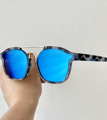 Sunčane naočale Cat Eye Aviator Blue Havana