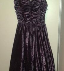 Svečana haljina 40 od baršuna