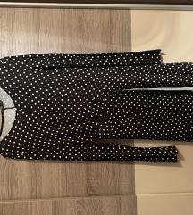 BERSHKA haljina na tockice