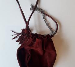 Zara mikro kožna torbica