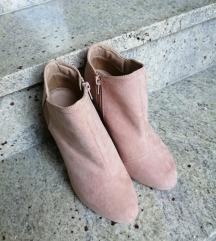 Roza cipele gležnjače
