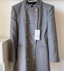 Novi Zara kaput s etiketom 38