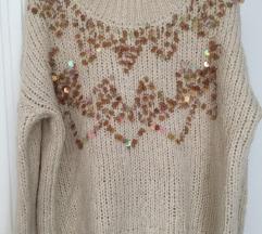 ZARA pulover oversize