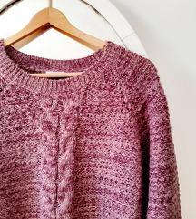 NOVI ljubičasti pulover džemper tunika
